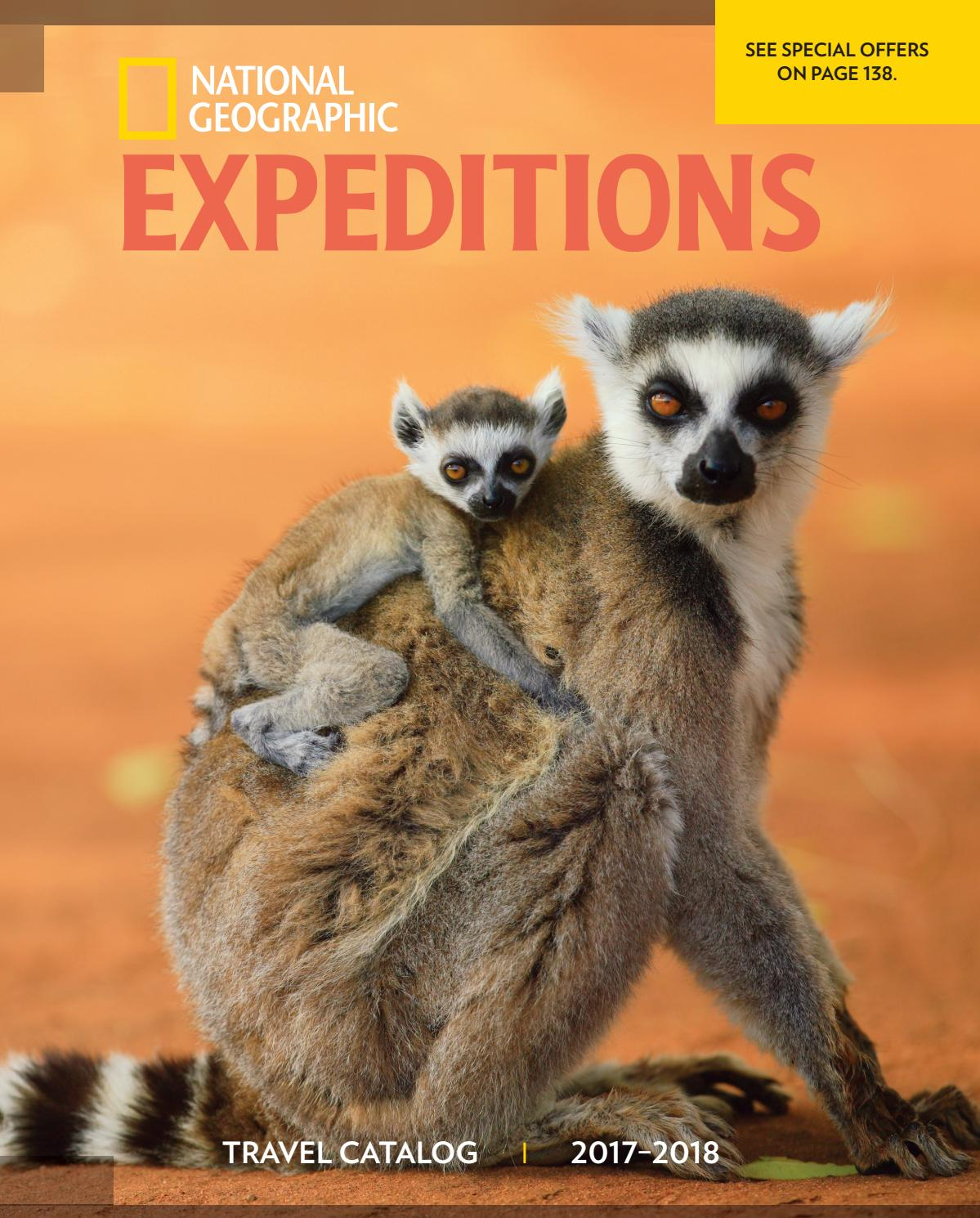 2017-2018 National Geographic Expeditions Catalog by National Geographic  Expeditions - issuu