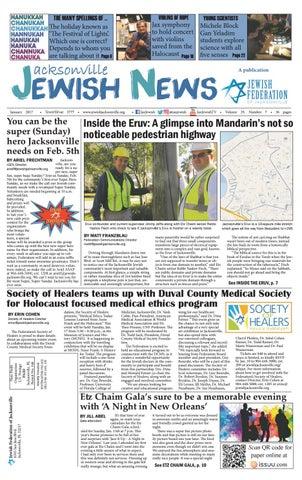 Jacksonville Jewish News January 2017 By Jewish Jacksonville News