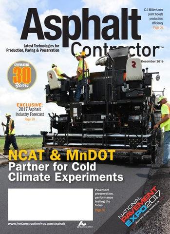 Asphalt Contractor December 2016