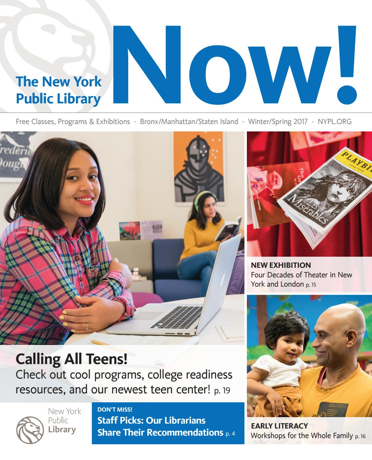 Spring 2017 By The New York Public  Library  Issuu