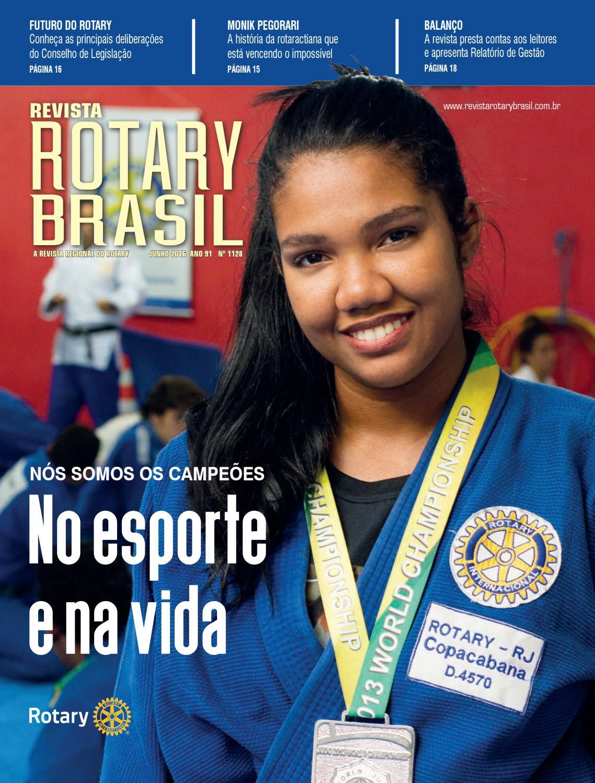 1128 - Revista Rotary Brasil - Junho de 2016 by Revista Rotary Brasil -  issuu bfac908bd19