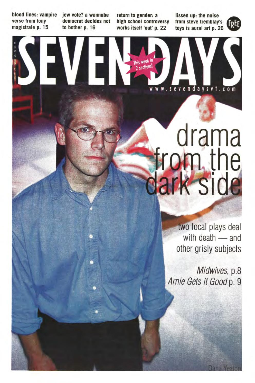 Seven Days, October 25, 2000 by Seven Days - issuu