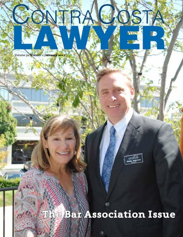 Contra Costa Lawyer Magazine - January 2017
