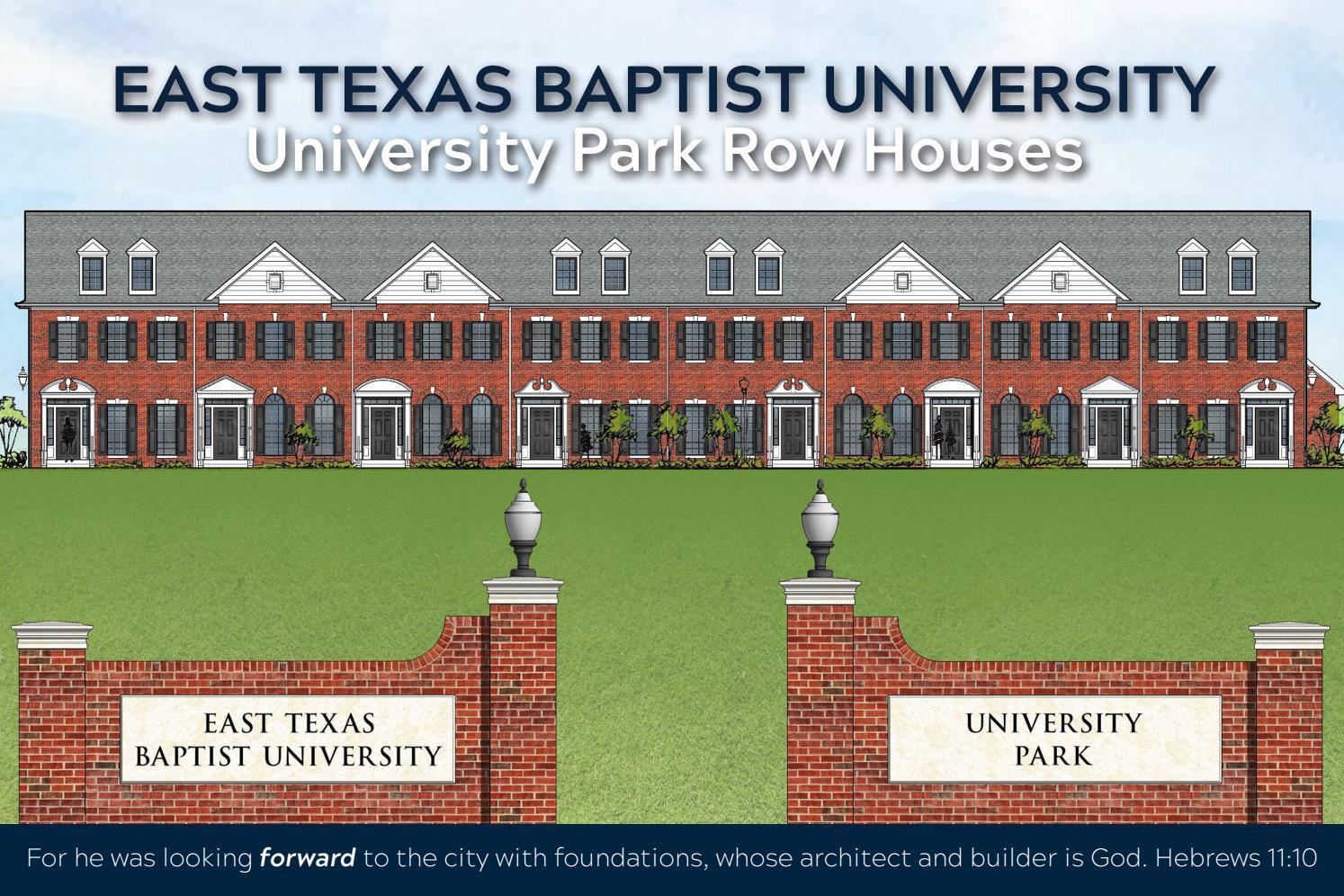 University Park Row Houses By East Texas Baptist