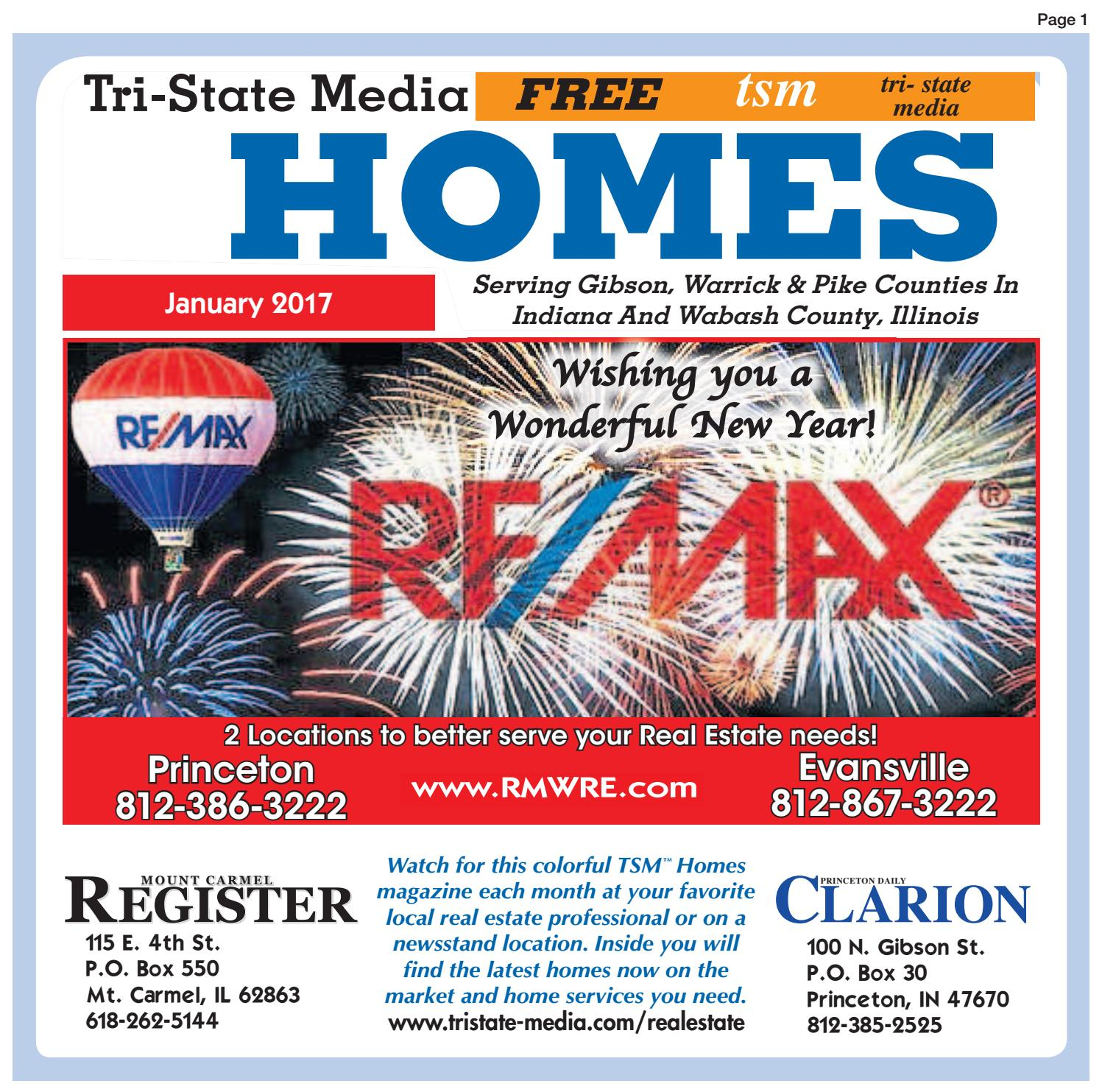 Indiana pike county stendal - Tsm Homes Book January 2017 By Princeton Daily Clarion Mt Carmel Register Warrick Standard Issuu