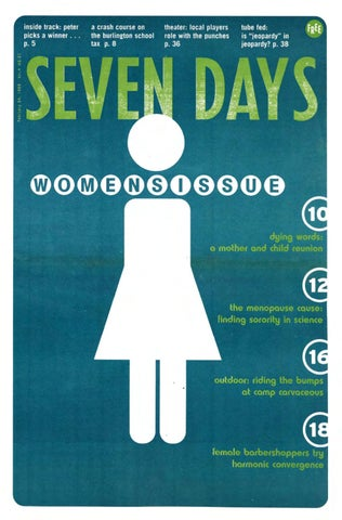 Seven Days February 24 1999 By Seven Days Issuu