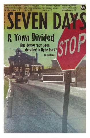 4fe3c943 Seven Days, April 14, 1999 by Seven Days - issuu