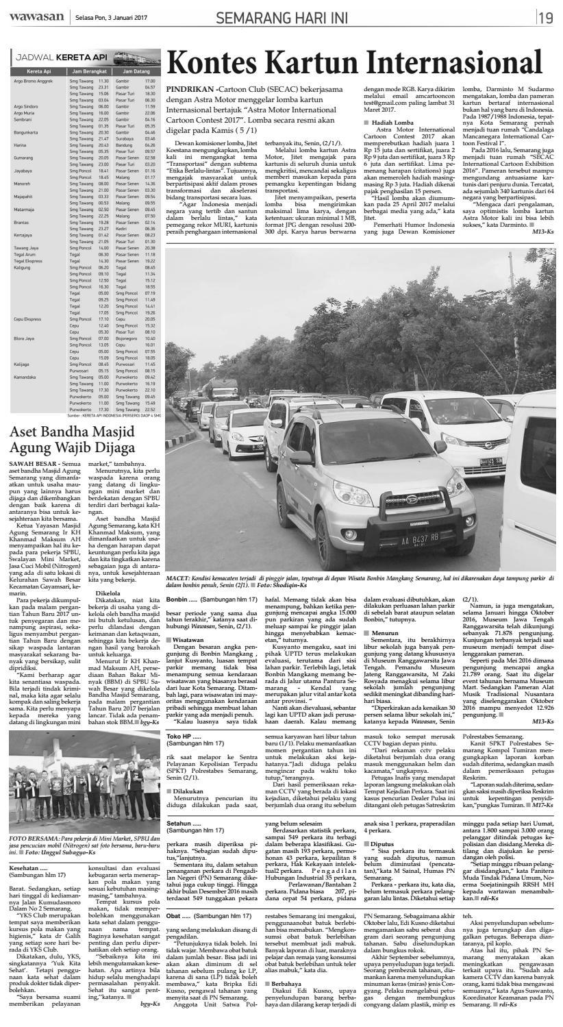 Wawasan 03 Januari 2017 By Koran Pagi Wawasan Issuu