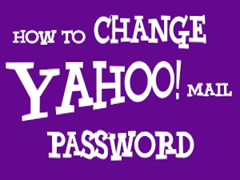 how to change yahoo account info