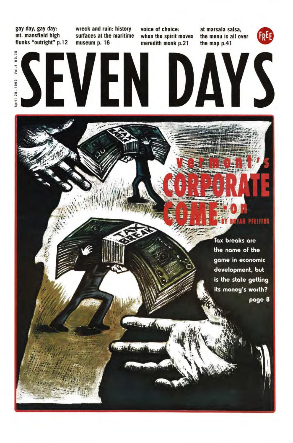 Picture of: Seven Days April 28 1999 By Seven Days Issuu