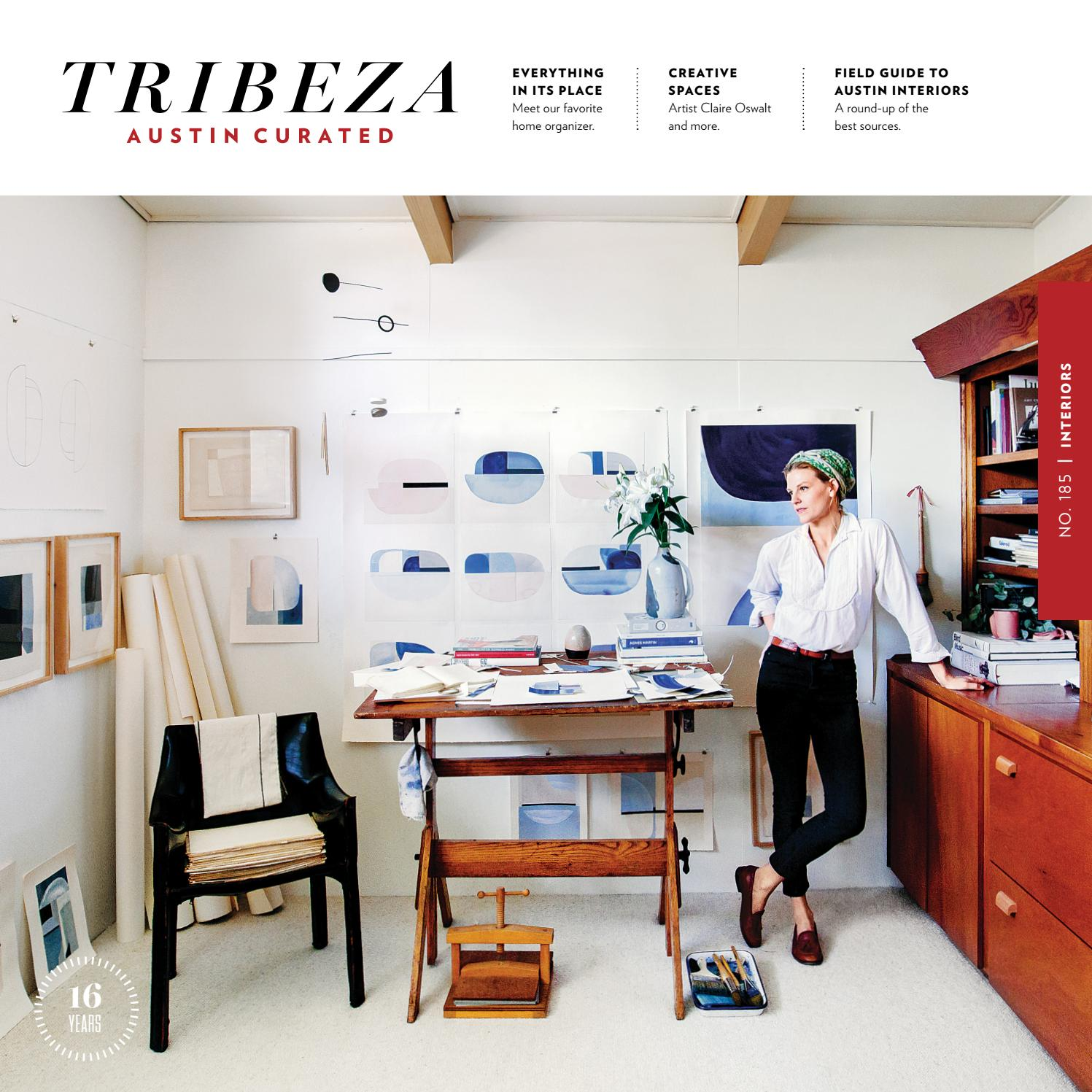 TRIBEZA January 2017 By Austin Curated