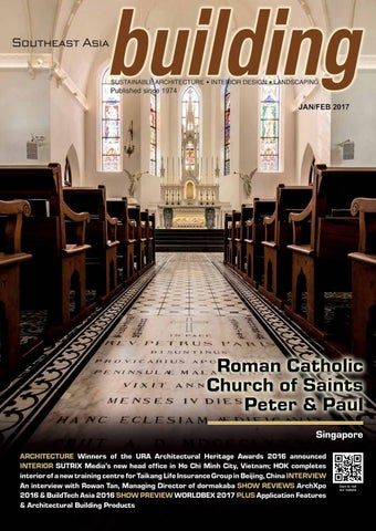 Roman Catholic Church of Saints Peter   Paul Singapore ARCHITECTURE Winners  of the URA Architectural Heritage Awards 2016 announced INTERIOR SUTRIX ... 20ce4c631fe