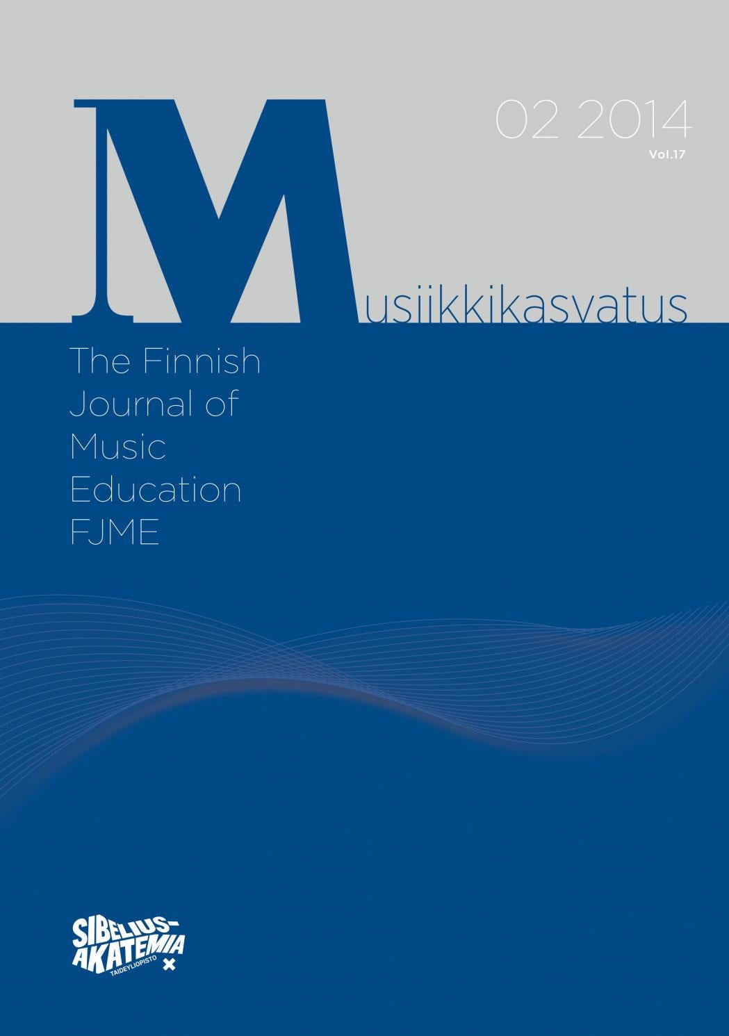FJME vol17 02 2014 by Sibelius Academy of the University of