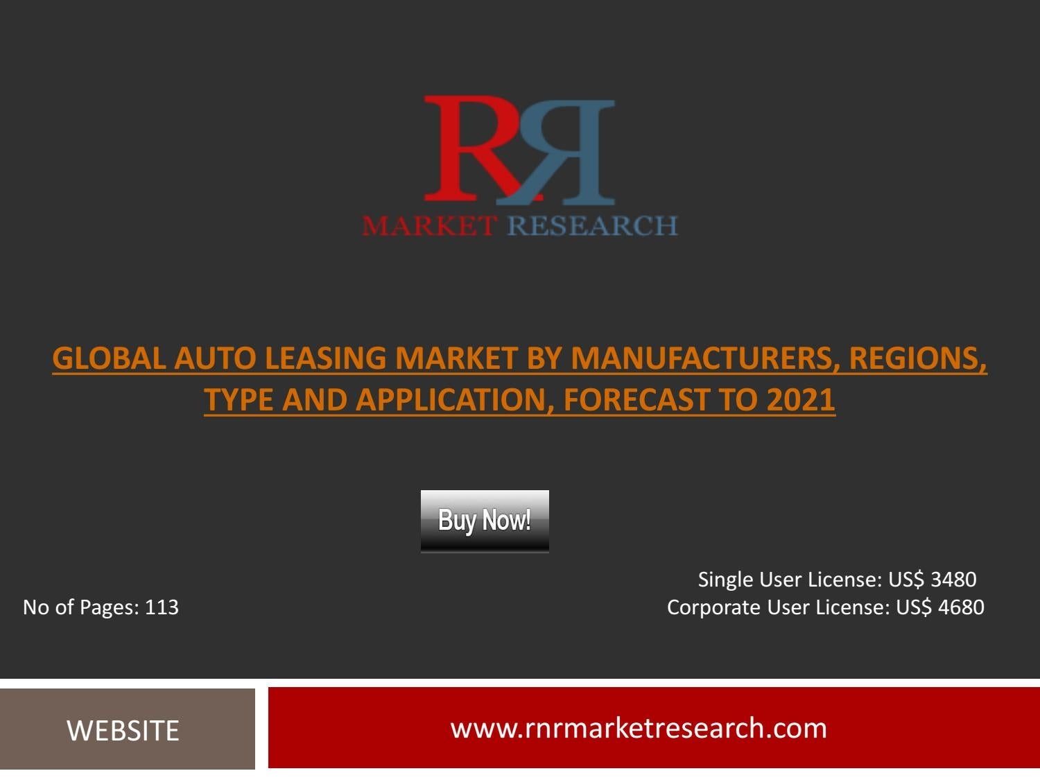 Global Auto Leasing >> Industry Report On Global Auto Leasing Market Growth Factors By