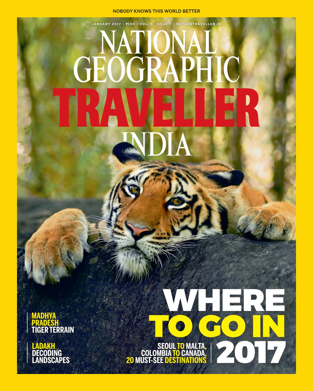 national geographic traveller india january 2017 by national