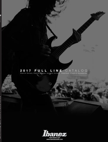 Catalogo Ibanez 2017 by Mogar Music S.p.A. - issuu on