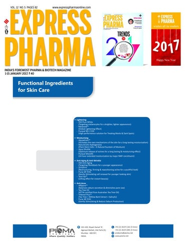 express pharma vol 12 no 5 january 1 15 2017 by indian express