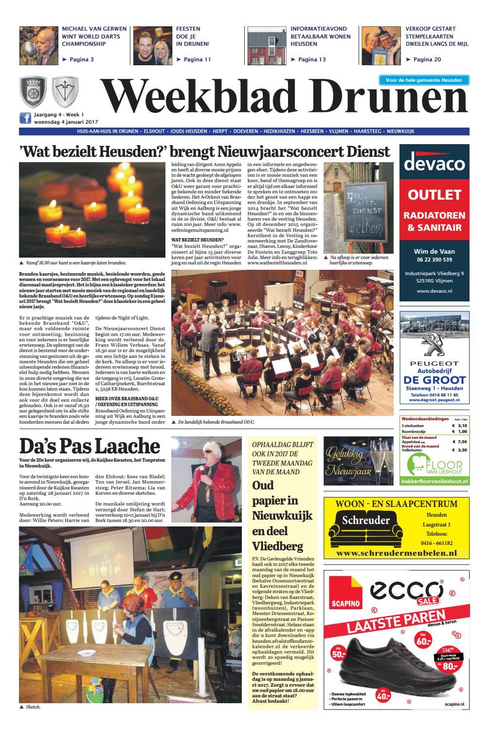 Loodveter 50 Gram.Weekblad Drunen 04 01 2017 By Uitgeverij Em De Jong Issuu