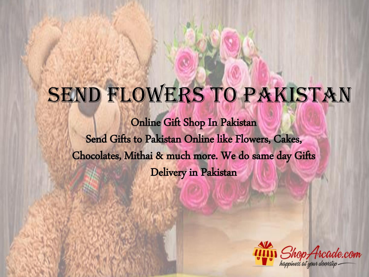 Send Flowers To Pakistan By Maria Ahmed Issuu