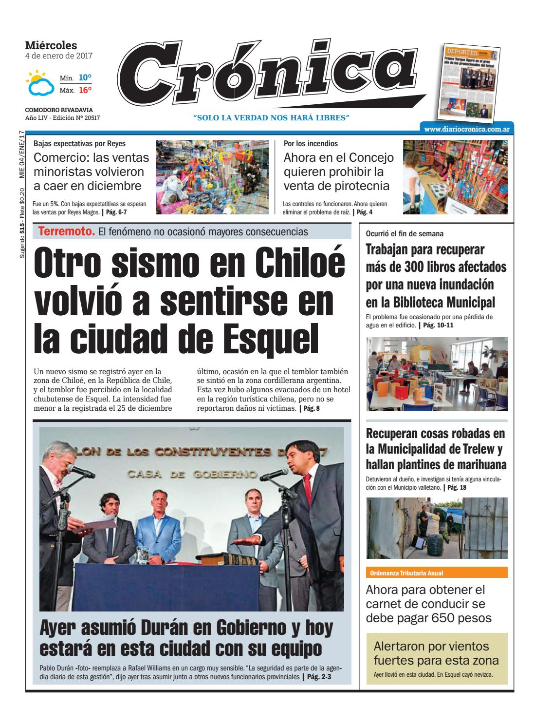 E285d68a260a1057be44f2fdf992498d by Diario Crónica - issuu