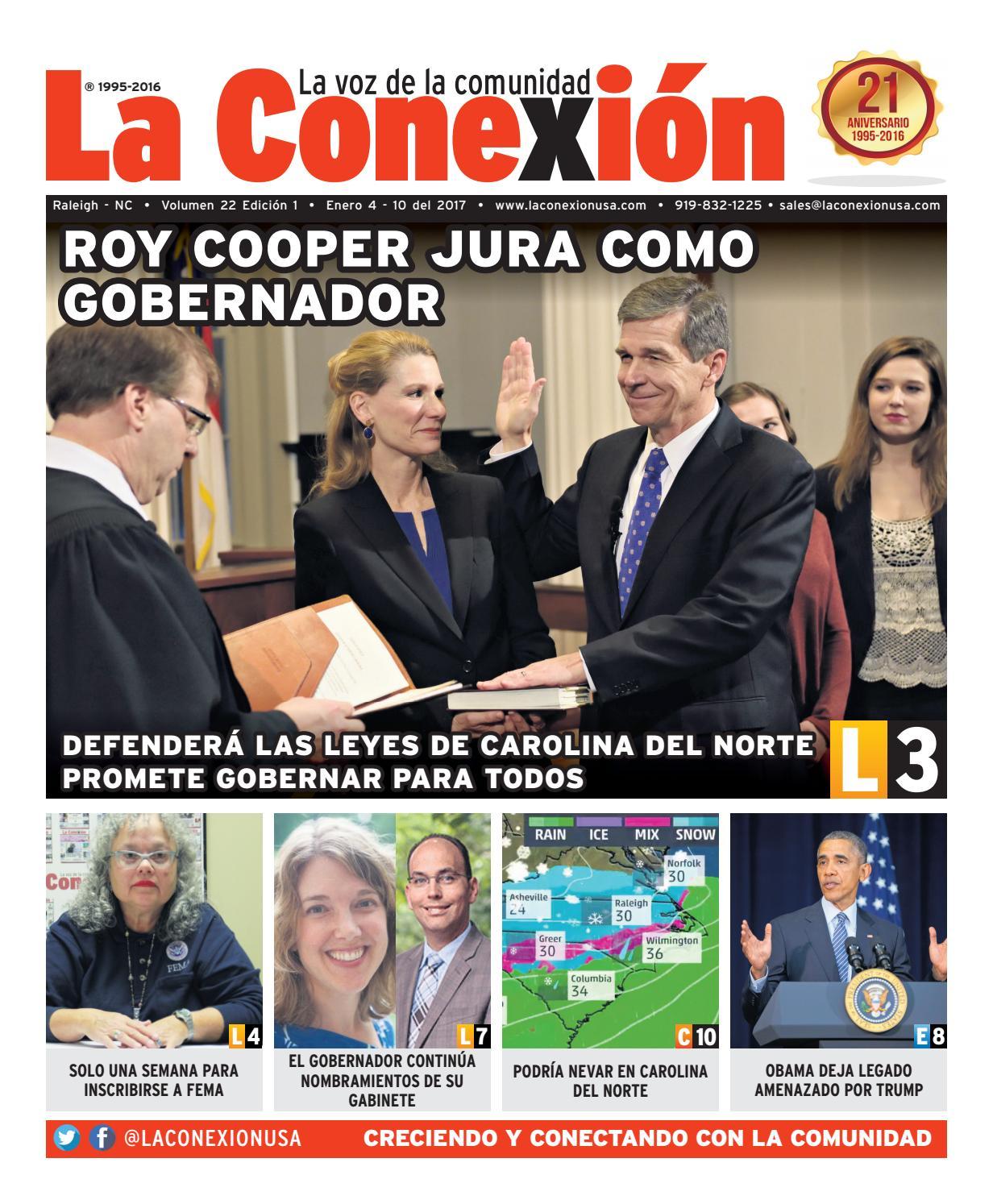 La Conexión 2017-01-04 by La Conexion USA - issuu