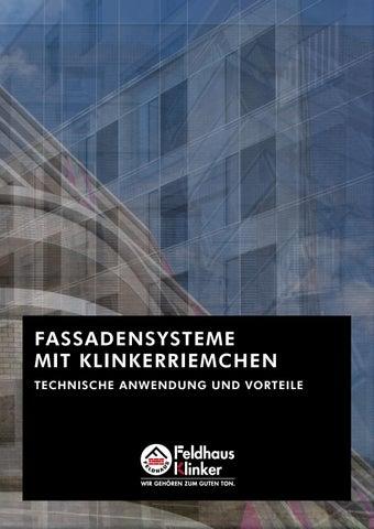 FELDHAUS KLINKER FASSADENSYSTEME by FELDHAUS KLINKER VERTRIEBS GMBH ...