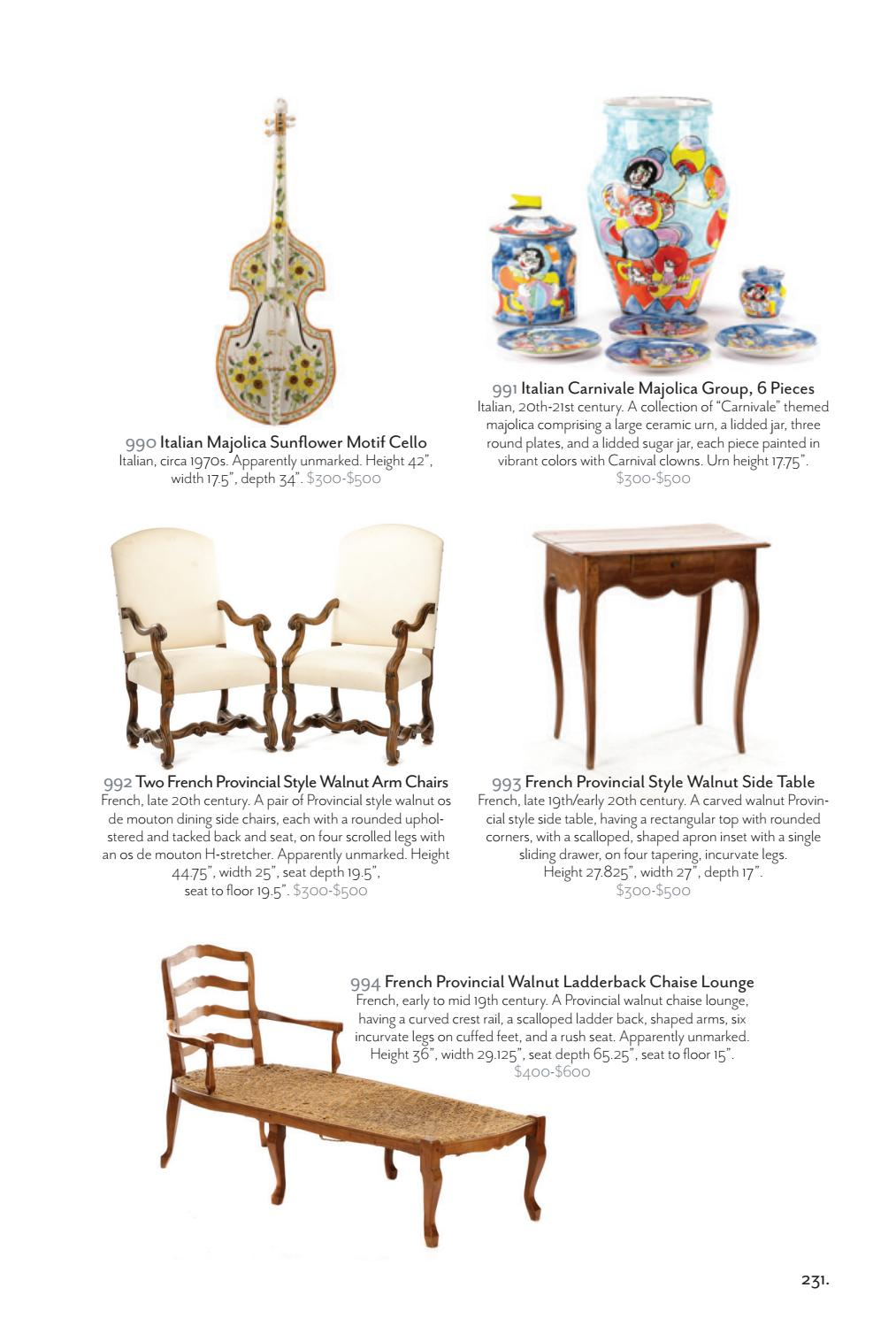 Magnificent Ahlers Ogletree January 2017 Auction Catalog New Years Cjindustries Chair Design For Home Cjindustriesco