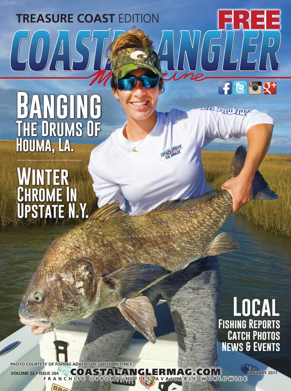Coastal angler magazine jan treasure coast by coastal for Treasure coast fishing report