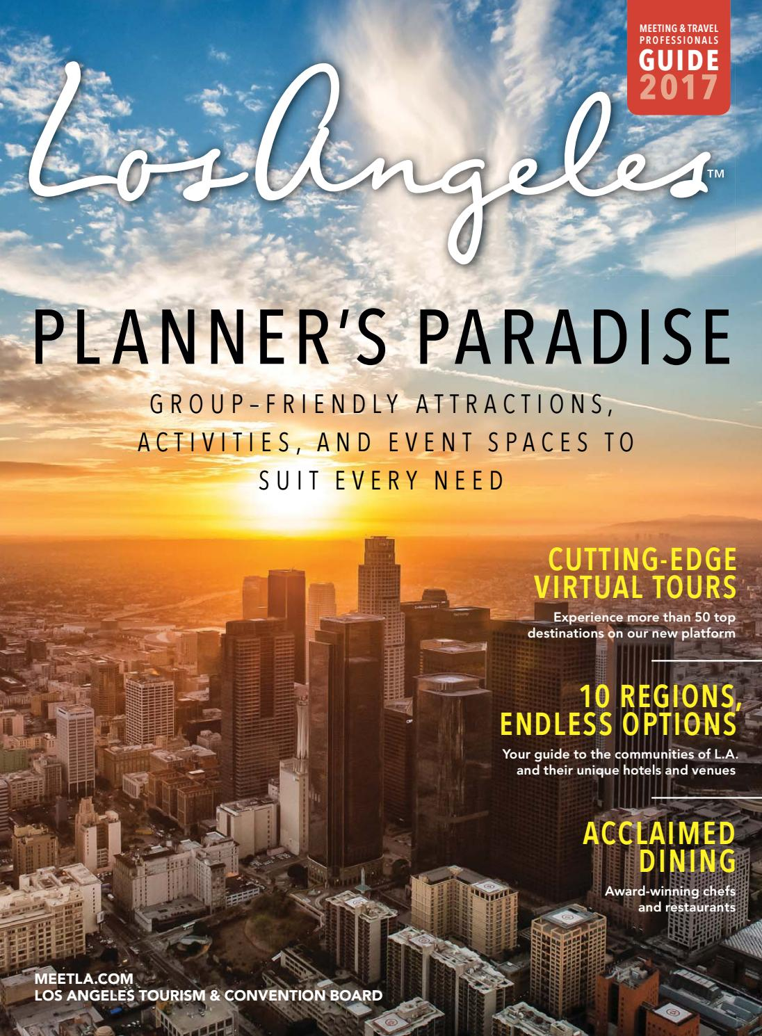Los Angeles Meeting Amp Travel Professionals Guide By Lamcp