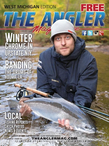 The Angler Magazine-Jan  / West Michigan by Coastal Angler