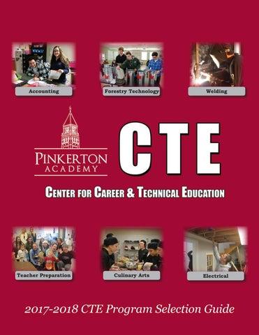 Pinkerton Academy Campus Map.Cte 2017 2018 Program Guide By Pinkerton Academy Issuu