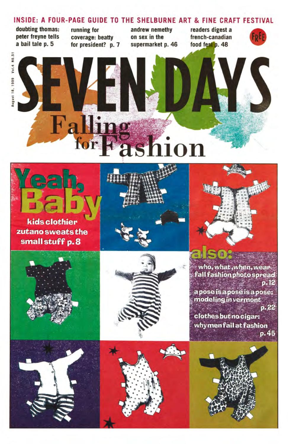 Seven Days August 18 1999 By Seven Days Issuu