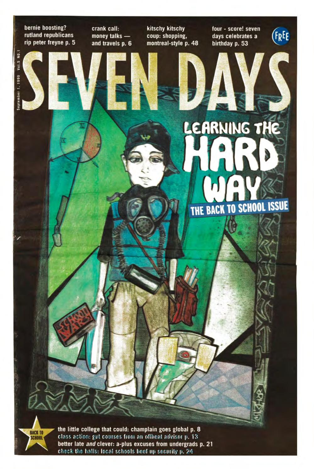 Seven Days, September 1, 1999 by Seven Days - issuu
