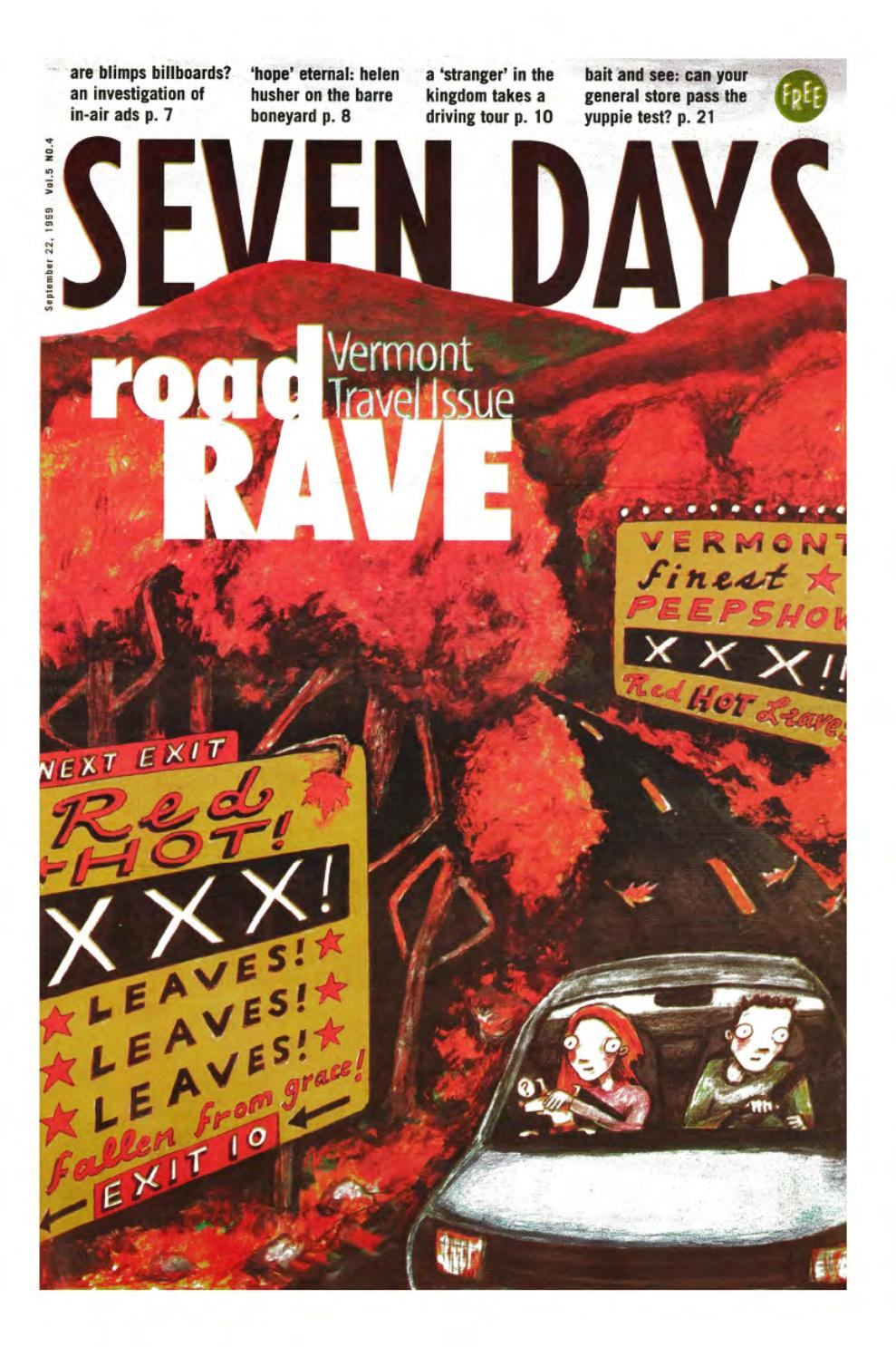 Seven Days, September 22, 1999 by Seven Days issuu