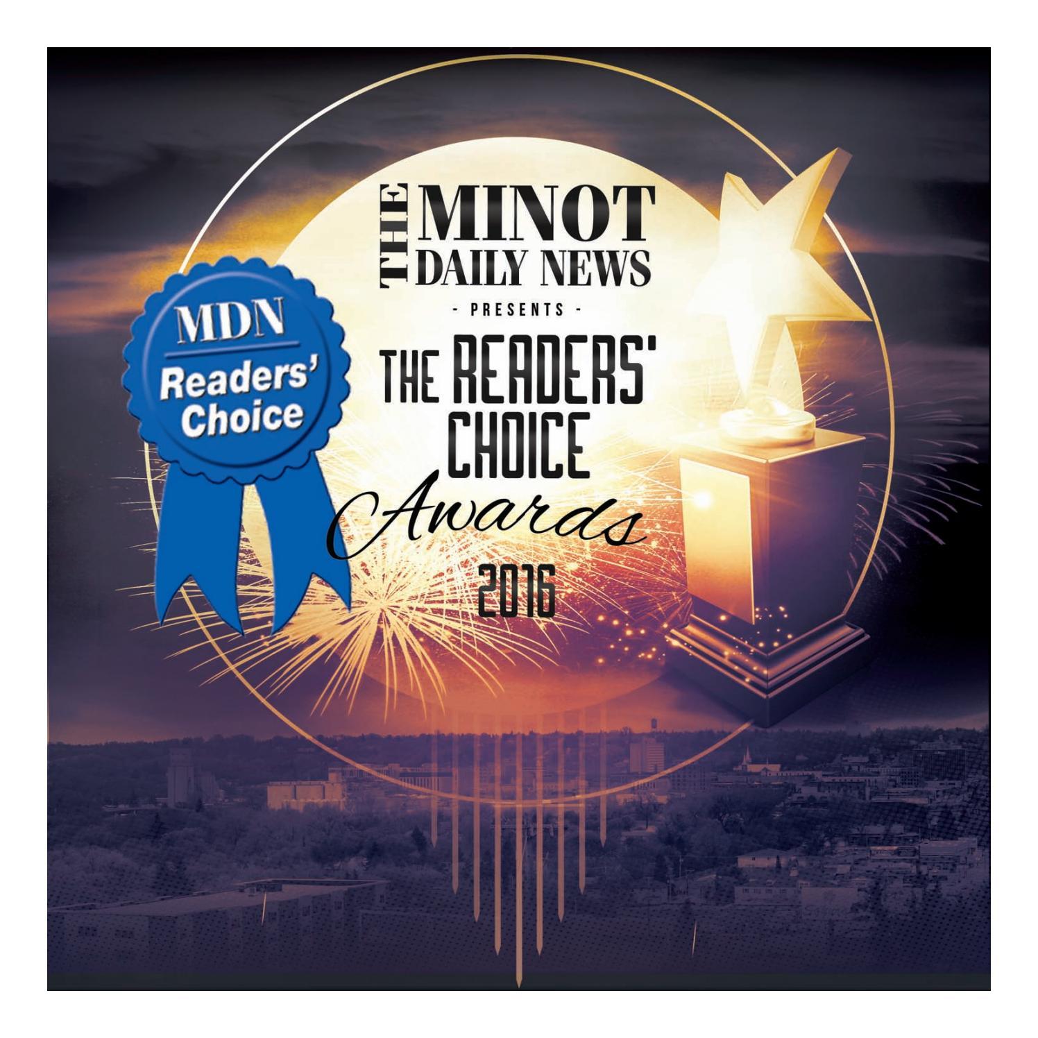 Readers Choice Awards 2016 By Minotdailynews Issuu
