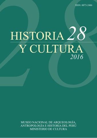 Revista Historia y Cultura 28 by Ministerio de Cultura - issuu 87d4f5d7e39