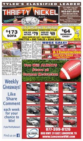 Tylertn 010517 0546 by Thrifty Nickel Want Ads of Smith Co. - issuu a8dd6a2b8936