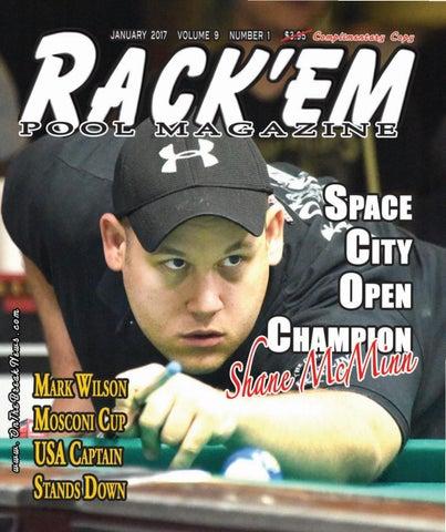 Rack'em Pool Magazine January Issue 2017 by Rackem Magazine - issuu