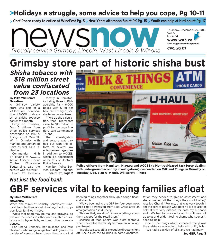 Newsnow Niagara E Edition December 29 2016 By Newsnow
