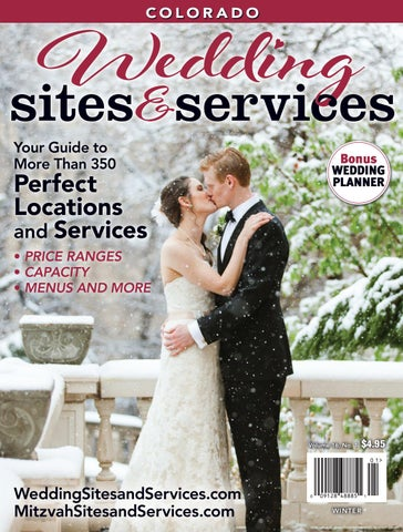 Wedding Sites and Services, Colorado, January 2017 Edition by ... be26a3917922