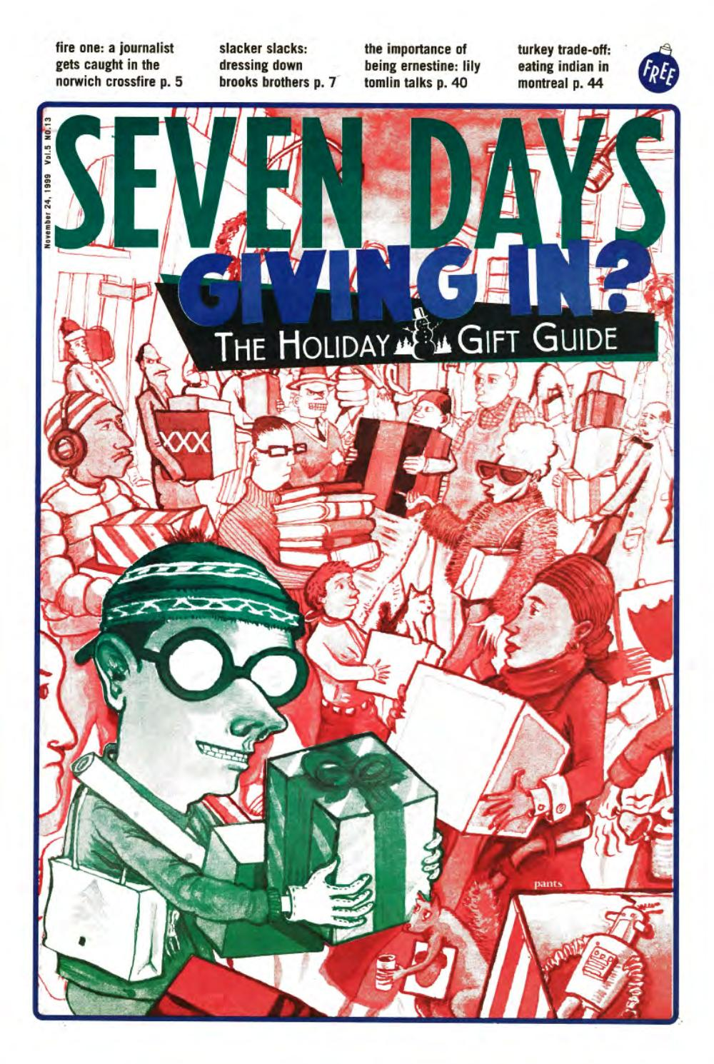 Seven Days, November 24, 1999 by Seven Days - issuu