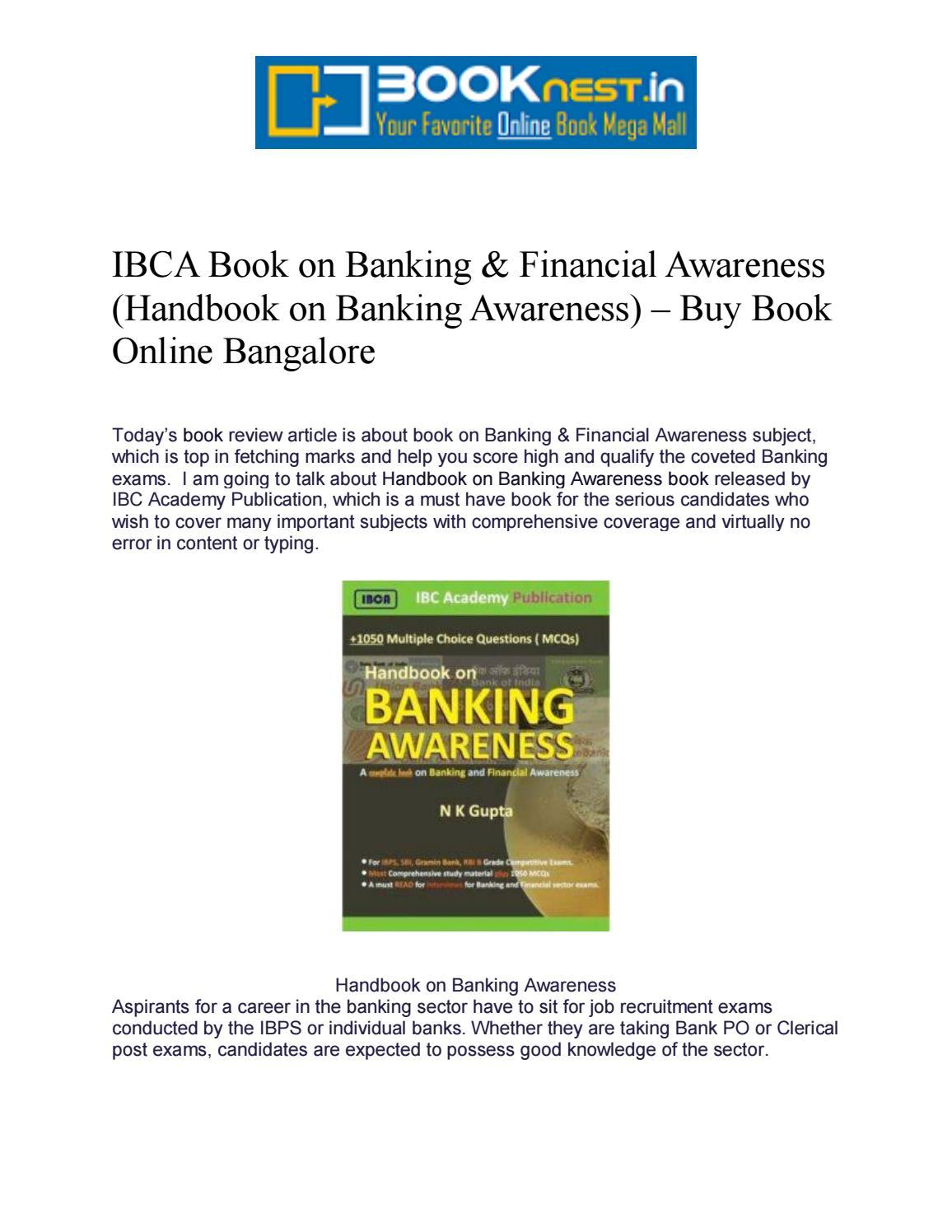 Ibca Book On Banking By Narendra K Gupta Issuu