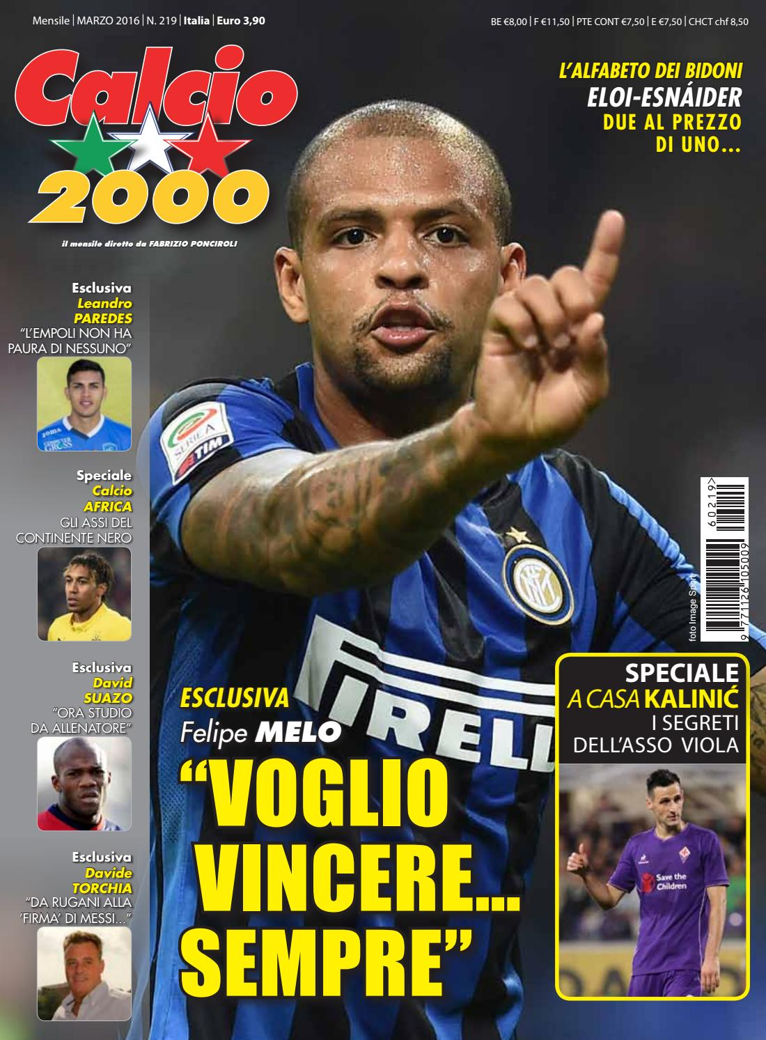 d2b8104f12 Calcio2000 n.219 by TC&C SRL - issuu