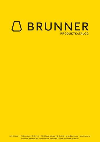 070663b5a58 AB H Brunner - Produktkatalog 2017 by AB H Brunner - issuu
