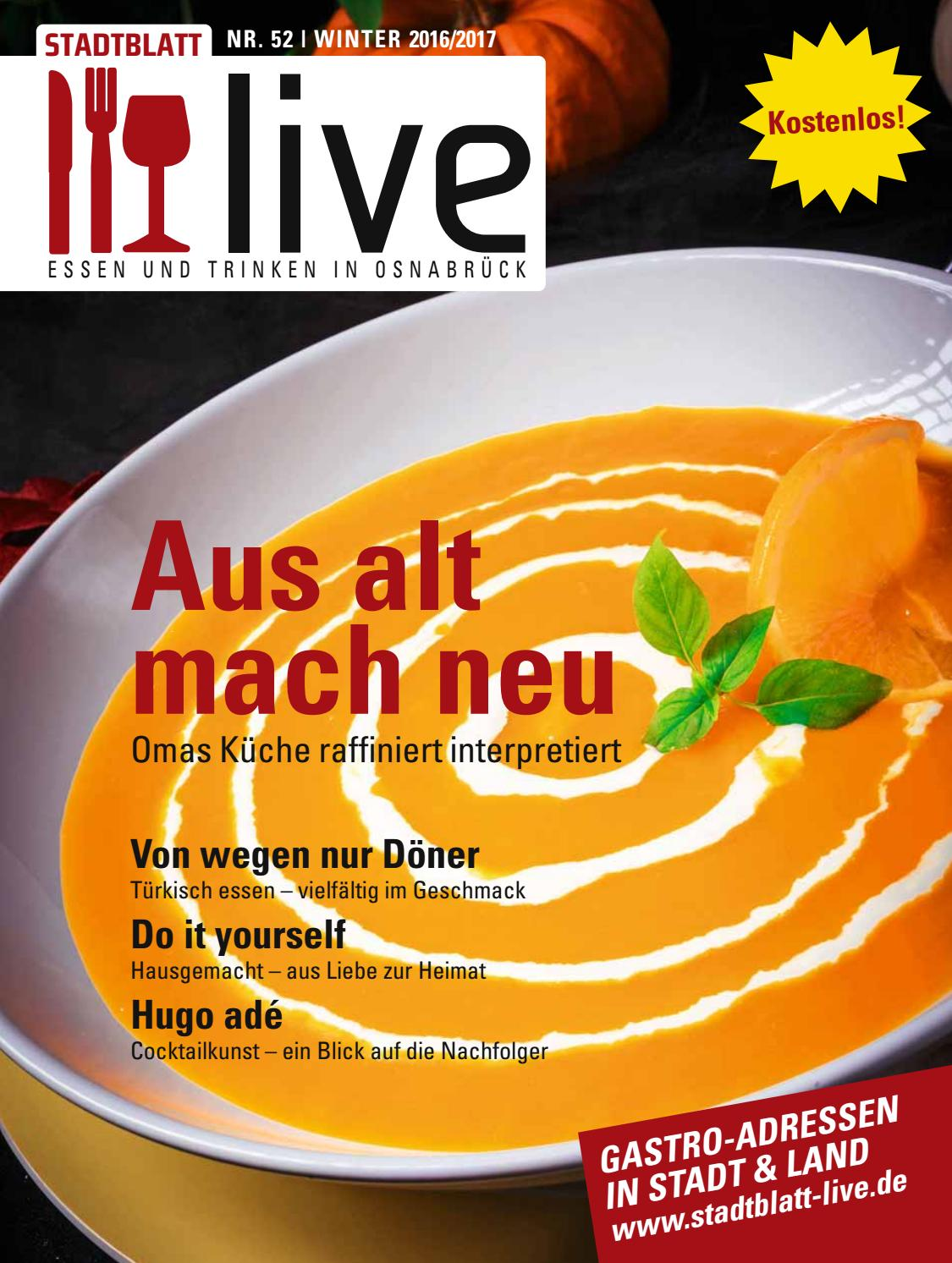 STADTBLATT live Winter 2016/2017 by bvw werbeagentur - issuu