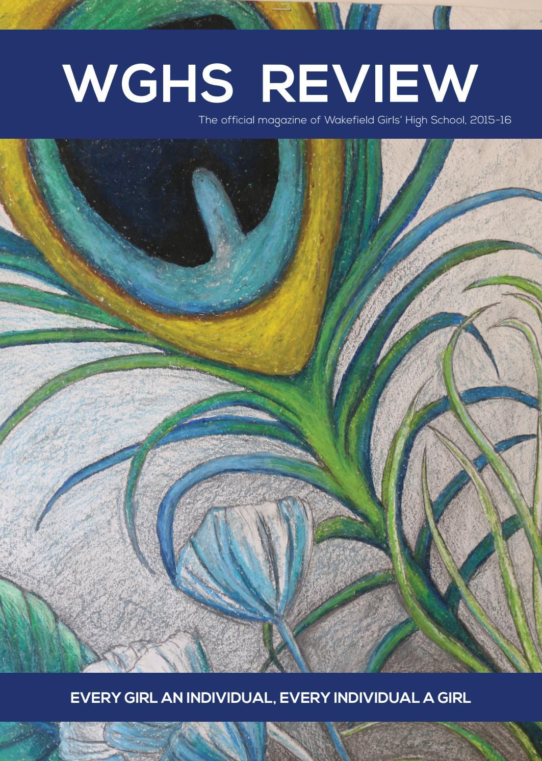 d56d8d123b78 WGHS Review Magazine 2016 by Wakefield Grammar School Foundation - issuu