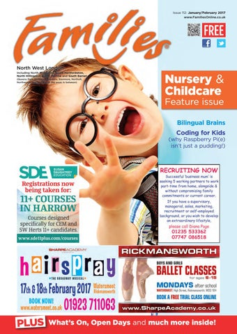 f14f55df24 Families North West London Magazine Issue 112 Jan Feb 2017 by ...