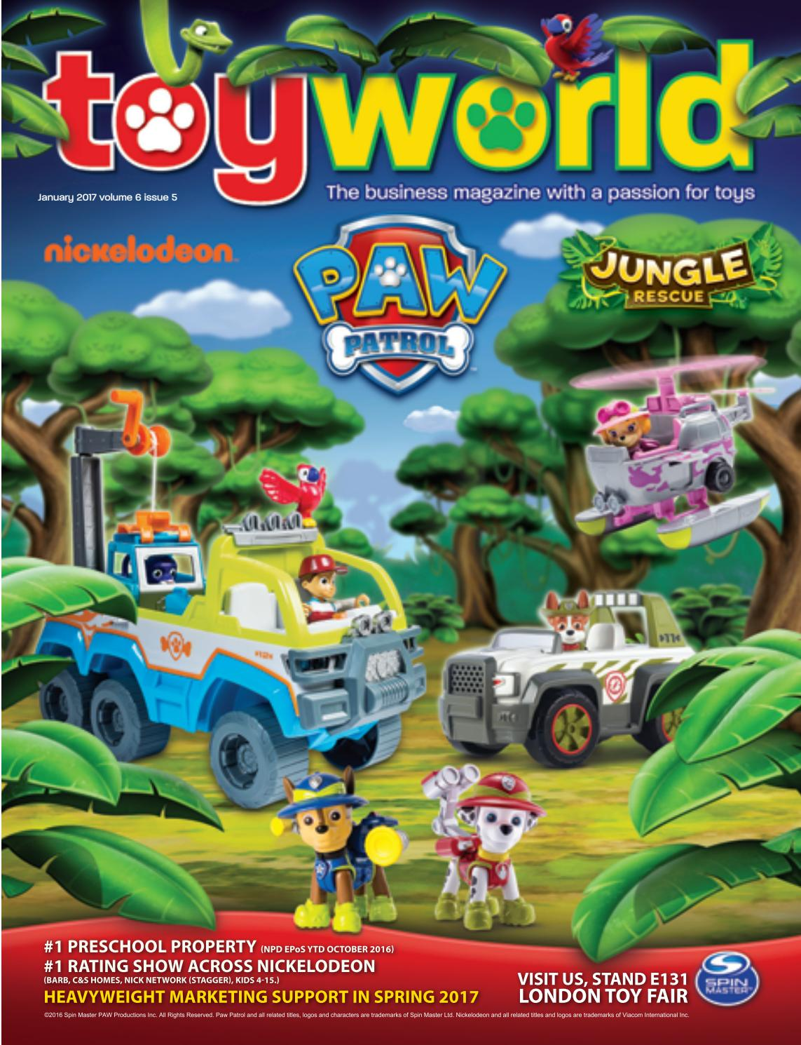 Toyworld Jan 2017 By TOYWORLD MAGAZINE
