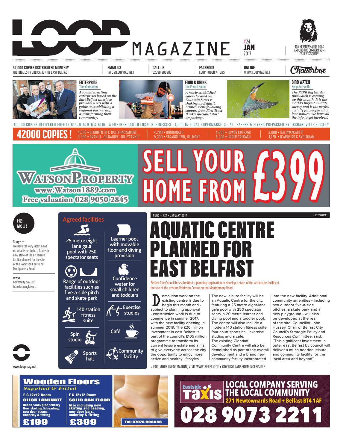 Loop Mag East Belfast January 2017 By Loop Publications