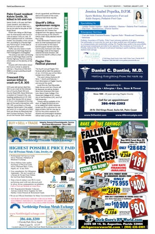 Palm Coast Observer Online 01-05-17 by Brian McMillan - issuu